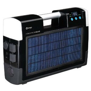 Xantrex Technologies 852-2071 Xpower AC/DC Powerpack Solar With 400 Watt Inverter, Two AC Outlets, USB Port, And Digital Display