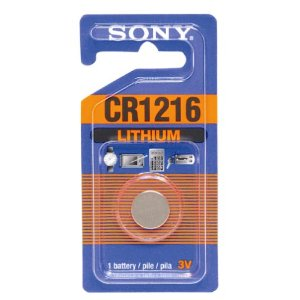 Sony Lithium Coin Battery CR1216-B1A