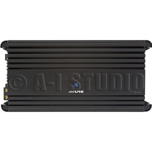 Alpine MRP-M2000 Mono Power Class D Amplifier