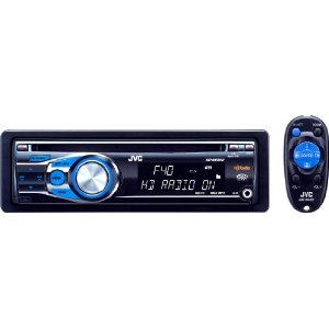 JVC KD-HDR40 CD Receiver with Built-In HD Radio Tuner, Front AUX Input, and Bluetooth/Satellite Radio add-on capability