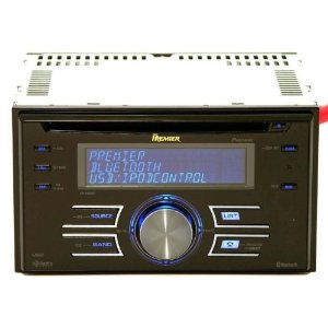 2008 Brand NEW Pioneer Premier 800 Double DIN In-dash CAR Cd/mp3 Receiver with 3 Line Text Display, 50x4 Watt Amp, 3 Sets of 4v Pre-amps + Crossovers + Sub Controls, and Bluetooth Built in with Bluetooth Accessories Included **Ipod Cable Included**