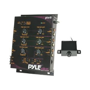 PYLE PLXR8 3 Way Electronic Crossover with Remote Subwoofer Control