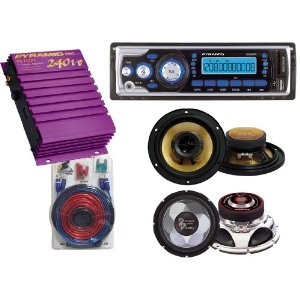 Pyramid Complete Audio System for the Car/Truck/SUV -- 1704MP