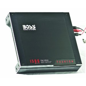 Boss PH1500M Phantom 1500 Watt Mosfet Monoblock Amplifier with Remote