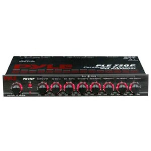 PYLE PLE720P 7 Band Parametric Equalizer and Crossover