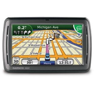Garmin n�vi 855 4.3-Inch Widescreen Portable GPS Navigator with Speech Recognition (Factory Refurbished)