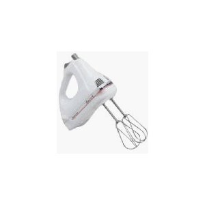 KitchenAid 5 Speed Classic Plus White Hand Mixer