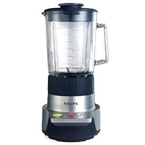 Krups KB720 1,000-Watt 5-Speed Blender with 60-Ounce Glass Jar