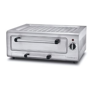Cuisinart PIZ-100 Stainless-Steel Electric 12-Inch Pizza Oven