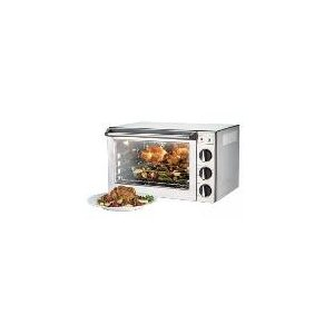 Convection Oven w/ Rotisserie, 1.5 cu ft, 4 Half Pan Capacity, 120 V