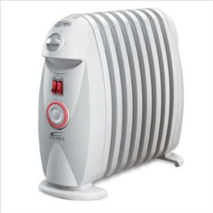 DeLonghi Solaris Oil-Filled Radiator with Timer