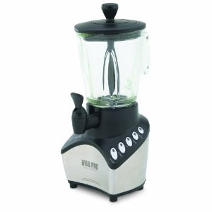 West Bend 79908 IFBB Blender with 56-Ounce Glass Jar and Serving Spigot