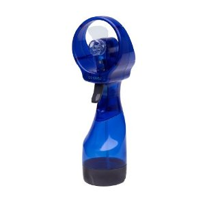 O2Cool 8101 Deluxe Battery-Operated Handheld Water-Misting Fan