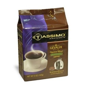 Gevalia 100405 Tassimo Signature Blend Decaf T-Disc 16-pods
