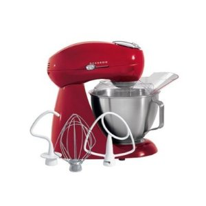 Hamilton Beach Eclectrics Stand Mixer - Red