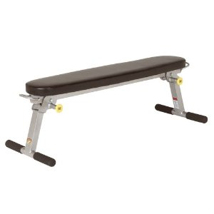 Trion Fitness Folding Flat Bench by HOIST