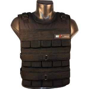 MiR Pro 45Lbs Slim Weighted Vest