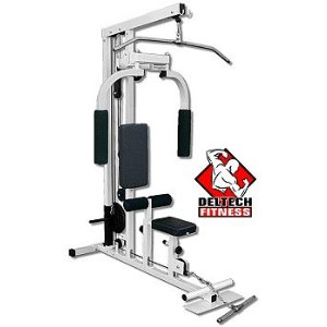Deltech Fitness Lat Machine with Pec Dec