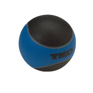 TKO 509RMB Rubberized Medicine Ball 8 lbs