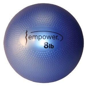 Empower 8-Pound Soft Medicine Ball with DVD