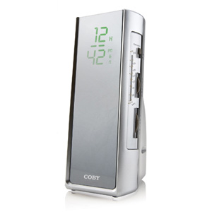 Coby cra119  clock radio digital amfm touch sensitiv
