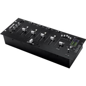 GEMINI MM-01 Professional 4 Channel Stereo Mixer
