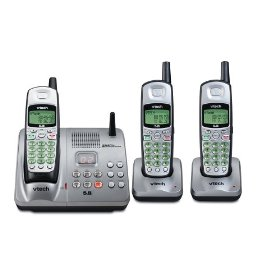 Vtech IA5874 - 5.8 GHz Three Handset Cordless Phone System w/ Digital Answering Device, Caller ID & Call Waiting
