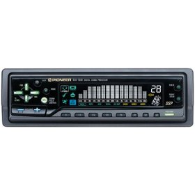 Pioneer Car DEQ7600 DIN Digital Signal Processor and 15-Band Digital Graphic Equalizer