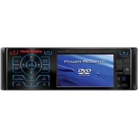 Power Acoustik PTID-4006T 3.6-Inch Widescreen Touch-Screen In-Dash Monitor with DVD TV Tuner and AM/FM
