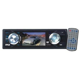 PYLE PLD31MU 3-Inch TFT Monitor DVD/VCD/MP3/CDR/USB Player and AM/FM Receiver And USB Port
