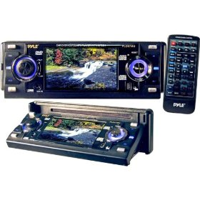 "PYLE AM/FM/DVD/ MP3/CD W/3.6"" LCD USB *NIC* - DVD/VCD/CD/MP3 Player w/3.6 LCD Screen & USB Port ( PLD57MU )"