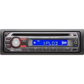 Sony Xplod CDX-GT22W 208 Watts AM/FM Car CD Receiver with Detachable Faceplate, MP3/WMA Playback and Front AUX Input