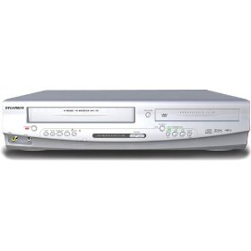 Sylvania DVC840F Progressive Scan DVD player and VCR Combo
