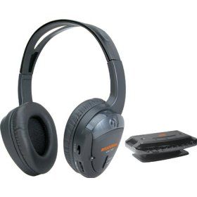 Sylvania SYL-WH930GB Wireless Headphones (Black)