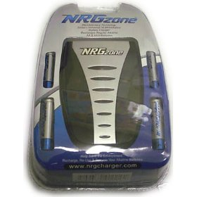 NRGzone Battery Charger for Regular Alkline