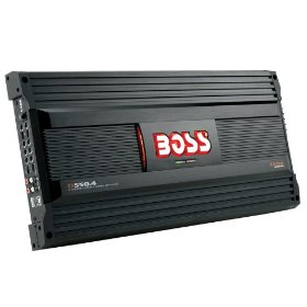 Boss Audio D550.4 MOSFET Bridgeable 4-Channel Power Amplifier