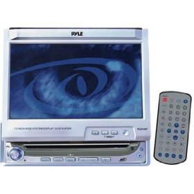 PYLE PLDVIN7 - DVD player with LCD monitor and AM/FM tuner