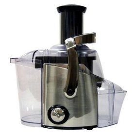 Juiceman jm400 black chrome juicer 700w 2speed 3slide switch
