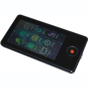 Mach Speed Trio Touch Screen  8GB MP3 and MP4 Video Player (Black)