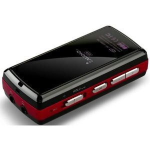 IAUDIO I7-16RD 16GB Portable Multimedia Player Red