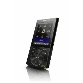 Sony Walkman E-340 Series 8 GB Video MP3 Player (Black)