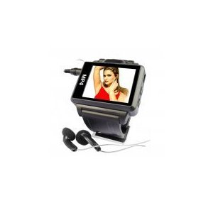 Widescreen MP4 Player Watch
