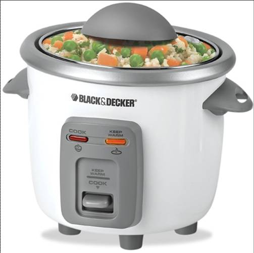 B&d rc3203 rice cooker 3cup