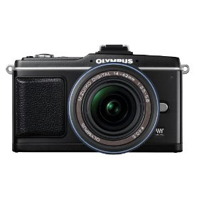 Olympus PEN E-P2 12.3 MP Micro Four Thirds Interchangeable Lens Digital Camera with 14-42mm f/3.5-5.6 Zuiko Digital Zoom Lens and Electronic View Finder