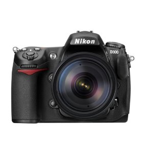 Nikon D300 DX 12.3MP Digital SLR Camera with 18-200mm f/3.5-5.6G ED-IF AF-S VR DX Nikkor Zoom Lens