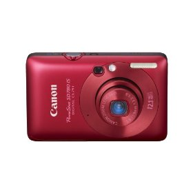 Canon PowerShot SD780IS 12.1 MP Digital Camera with 3x Optical Image Stabilized Zoom and 2.5-inch LCD (Deep Red)