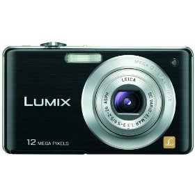 Panasonic Lumix DMC-FS15 12MP Digital Camera with 5x MEGA Optical Image Stabilized Zoom and 2.7 inch LCD (Black)
