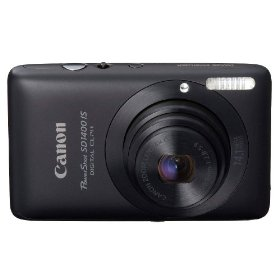 Canon PowerShot SD1400IS 14.1 MP Digital Camera with 4x Wide Angle Optical Image Stabilized Zoom and 2.7-Inch LCD (Black)