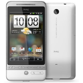 HTC Unlocked Phone with 5MP Camera, WiFi, GPS, and Android OS--International Version with Warranty (White)