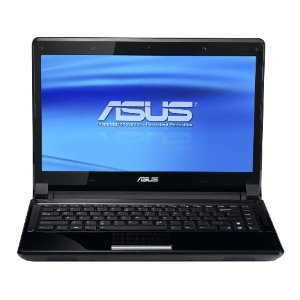 ASUS UL80Ag-A2B Thin and Light 14-Inch Black Laptop (Windows 7 Professional)